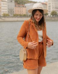 Abbigliamento Donna Giacche / Blazer Céleste SASSAFRAS Camel