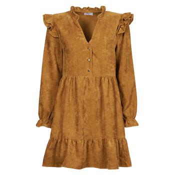 Abbigliamento Donna Abiti corti Betty London PRIXOUTE Camel