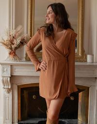 Abbigliamento Donna Tuta jumpsuit / Salopette Céleste NOYER Camel