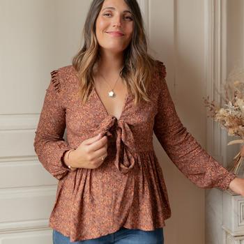 Abbigliamento Donna Top / Blusa Céleste ROSSIGNOL Multicolore