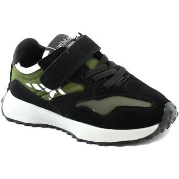 Scarpe Unisex bambino Sneakers basse Grunland GRU-I21-SC2460-NB Nero