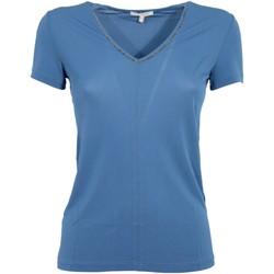 Abbigliamento Donna T-shirt maniche corte Borbonese MPN-001002 Bianco