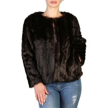 Abbigliamento Donna Cappotti Yes Zee - g009_e600 Marrone