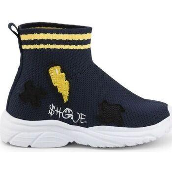 Scarpe Unisex bambino Sneakers alte Shone - 1601-005 Blu