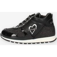 Scarpe Bambina Sneakers alte Café Noir C1530 Nero