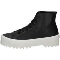 Scarpe Donna Sneakers alte Superga S41188W-A7T NERO