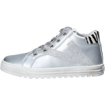 Scarpe Donna Sneakers alte Naturino Sneakers Bimba Argento