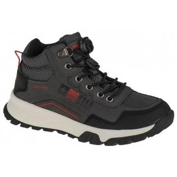 Scarpe Uomo Sneakers alte Big Star Youth Shoes grigio