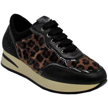 Scarpe Donna Sneakers basse Melluso AMELLUSOR25047leo nero