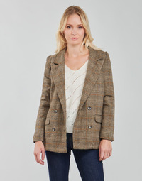 Abbigliamento Donna Giacche / Blazer Betty London PANOPI Marrone