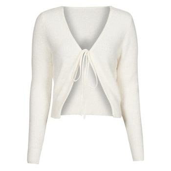 Abbigliamento Donna Gilet / Cardigan Yurban  Bianco