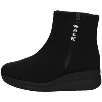Scarpe Donna Sneakers alte Melluso R25628A NERO