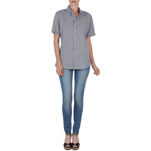 Camicie Apparel Rsacp401s Corte BiancoBlu American Maniche 53q4RLAj
