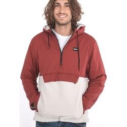 Abbigliamento Uomo Giacche sportive Hurley HUDSON BURRRITO ANORAK Rosso