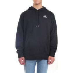 Abbigliamento Felpe New Balance MT11550 Felpa Unisex nero nero