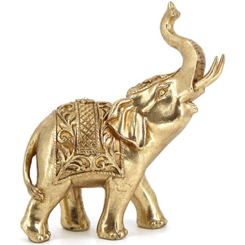 Casa Statuette e figurine Signes Grimalt Figura Di Elefante Dorado