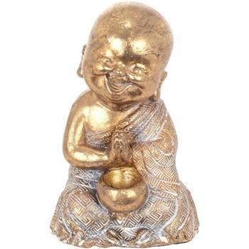 Casa Statuette e figurine Signes Grimalt Figura Del Buddha Dorado