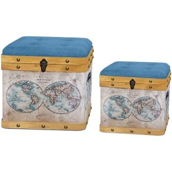Casa Bauli, scatole di immagazzinaggio Signes Grimalt Baul Set 2 U Marrón