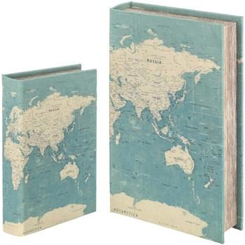 Casa Bauli, scatole di immagazzinaggio Signes Grimalt Scatola Del Libro Set 2 U Verde