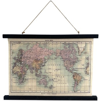 Casa Dipinti, tele Signes Grimalt Mappa Su Tela Arrotolabile Multicolor