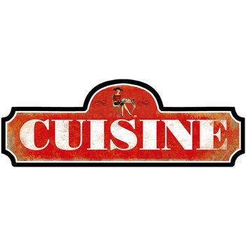Casa Poster Signes Grimalt Piastra Della Parete Della Cucina Rojo