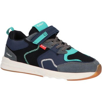 Scarpe Unisex bambino Sneakers basse Kickers 858781-30 KNAKK Negro