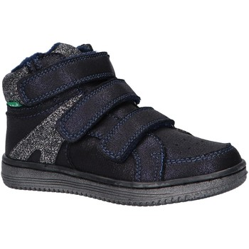 Scarpe Unisex bambino Sneakers alte Kickers 739362-10 LOHAN Azul