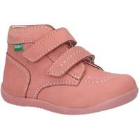 Scarpe Unisex bambino Stivaletti Kickers 620739-10 BONKRO-2 Rosa