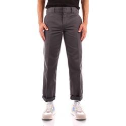 Abbigliamento Uomo Chino Dickies DK0WP873CH01 GRIGIO