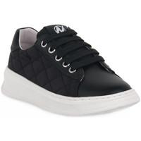 Scarpe Bambina Sneakers basse Naturino A01 NIXOM PLATINO Nero