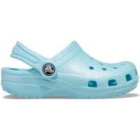 Scarpe Unisex bambino Scarpe acquatiche Crocs Classic Glitter Clog Celeste