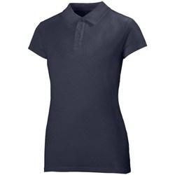 Abbigliamento Donna Polo maniche corte Helly Hansen Crew Polo Blu marino