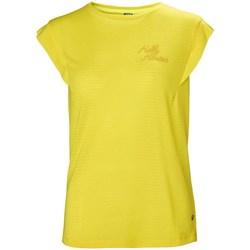 Abbigliamento Donna T-shirt maniche corte Helly Hansen Siren Spring Giallo