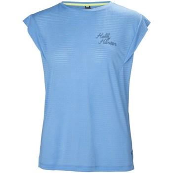 Abbigliamento Donna T-shirt maniche corte Helly Hansen Siren Spring Celeste