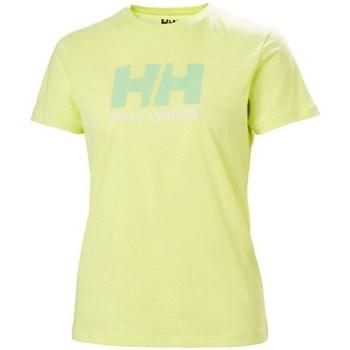 Abbigliamento Donna T-shirt maniche corte Helly Hansen W Logo Tshirt Verde