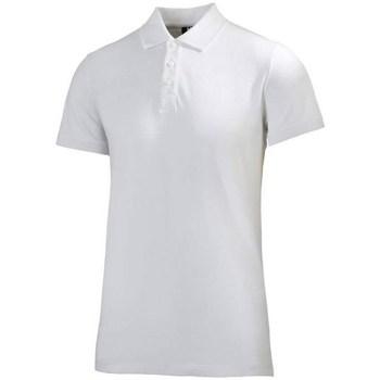 Abbigliamento Uomo Polo maniche corte Helly Hansen Crew Polo Bianco