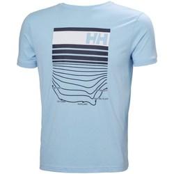 Abbigliamento Uomo T-shirt maniche corte Helly Hansen Shoreline Celeste
