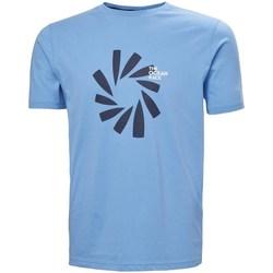 Abbigliamento Uomo T-shirt maniche corte Helly Hansen The Ocean Race Celeste