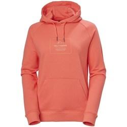 Abbigliamento Donna Felpe Helly Hansen F2F Cotton Hoodie Rosso