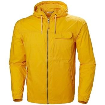 Abbigliamento Uomo giacca a vento Helly Hansen Mutsu Wind Jacket Giallo