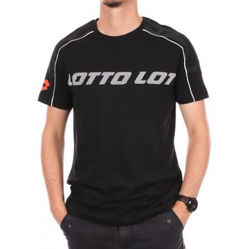 Abbigliamento Uomo T-shirt maniche corte Lotto -215584 Nero