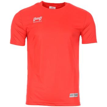 Abbigliamento Uomo T-shirt maniche corte Hungaria H-15TMUUBA00 Rosso