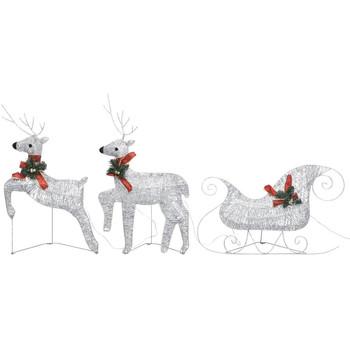 Casa Decorazioni festive VidaXL Decorazione natalizia Argento