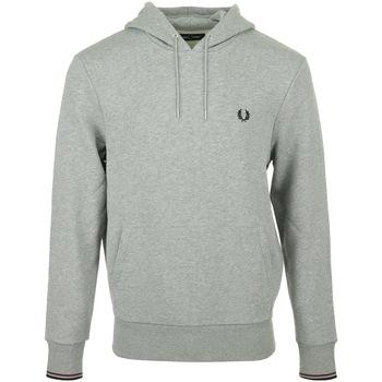 Abbigliamento Uomo Felpe Fred Perry Tipped Hooded Sweatshirt Grigio