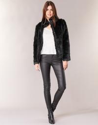 Abbigliamento Donna Pantaloni 5 tasche Vero Moda SEVEN Nero