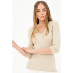Abbigliamento Donna Maglioni Fracomina FR21ST7004K43201 Colourless