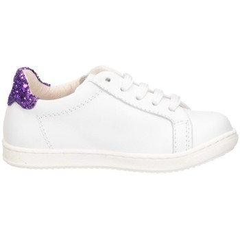 Scarpe Bambina Sneakers basse Gioiecologiche 5107 BIANCO/VIOLA