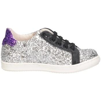 Scarpe Bambina Sneakers basse Gioiecologiche 5097/L ARGENTO