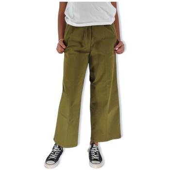 Abbigliamento Donna Pantaloni morbidi / Pantaloni alla zuava White Sand Pantaloni Carol Donna Verdi Verde
