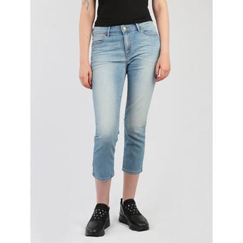 Abbigliamento Donna Jeans 3/4 & 7/8 Wrangler Drew Cropped Straight W26YZS64J blue